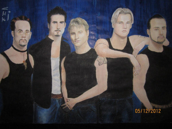 Backstreet Boys by chiki